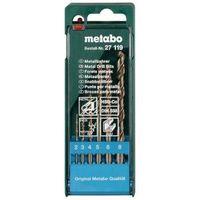 "Набор сверл по металлу ""Metabo"" HSS-Co 6 предметов 2,3,4,5,6,8мм. 627119000"