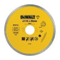 "Диск алмазный ""DeWalt"" 110х20мм для DWC410 керамика, корона  DT3714"